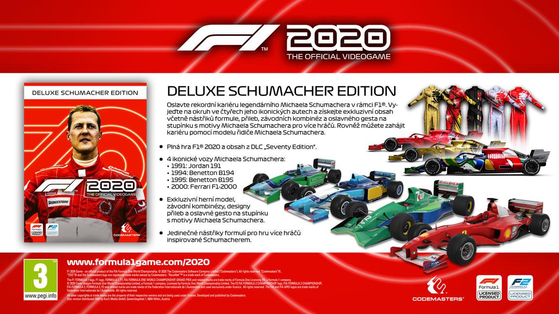 F1 2020 Michael Schumacher Deluxe Edition