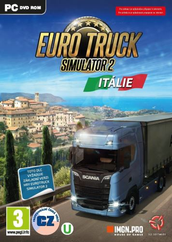 Euro Truck Simulator 2: Itálie PC