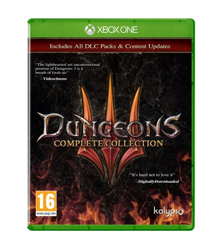 Dungeons 3 Complete Collection XBOX ONE