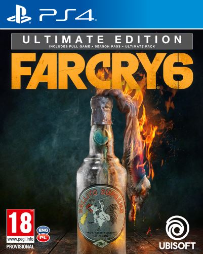 FAR CRY 6 ULTIMATE Edition PS4